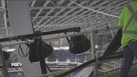 Curtains, darkening panel unveiled at US Bank Stadium