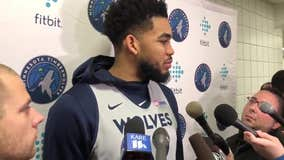 Karl-Anthony Towns too emotional to call parents after crash