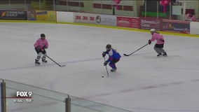 All-women's hockey tournament pairs hockey with hope