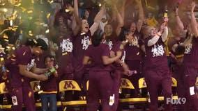 Gophers women's basketball celebrates big to NCAA Tournament