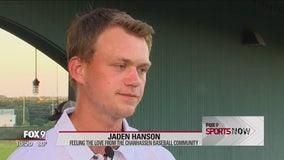 Chanhassen's Jaden Hanson feels the love from the community