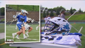 Minnetonka lacrosse team plays in honor of killed teen
