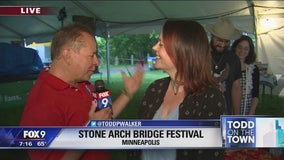 Stone Arch Bridge Festival kicks off in Minneapolis