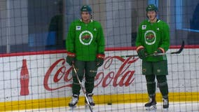 Newcomers Fiala and Donato making themselves at home with the Wild