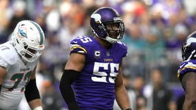 Vikings place LB Anthony Barr on Reserve/COVID-19 list