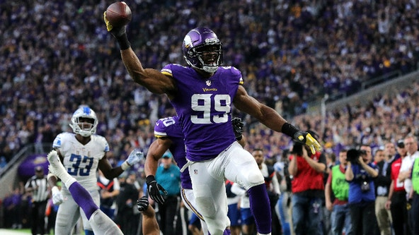 Report: Vikings Danielle Hunter having season-ending neck surgery