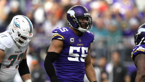 Vikings LB Anthony Barr out for season with torn pectoral muscle