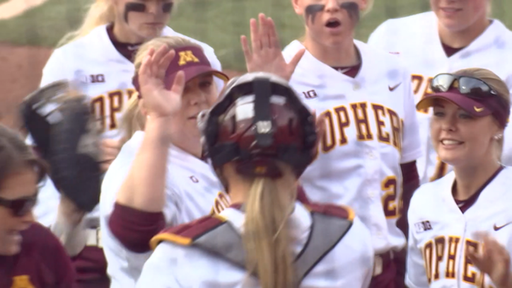 Gov dayton declares day for gophers softball team after - Dayton home and garden show 2017 ...