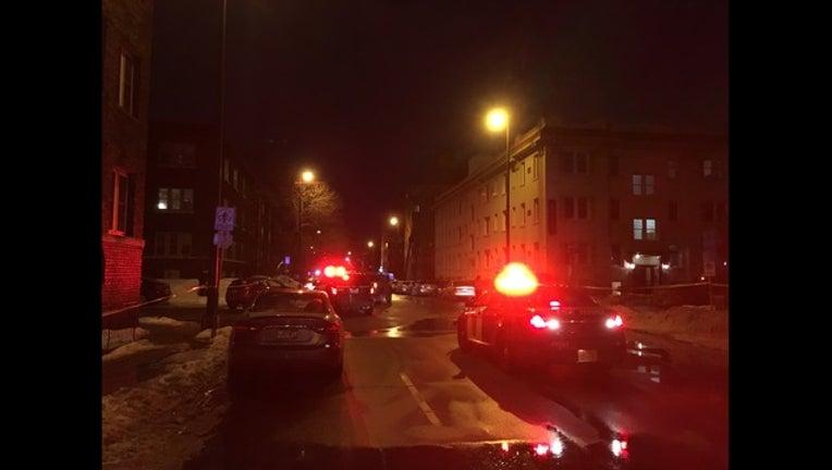 pedestrian crash Uptown