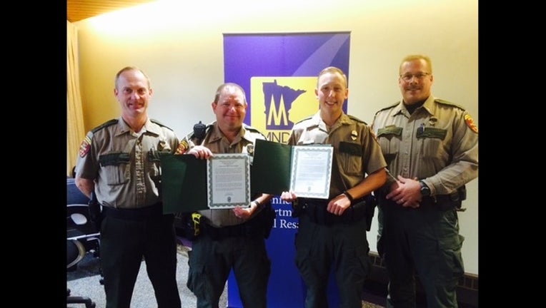 Minnesota DNR rescue award