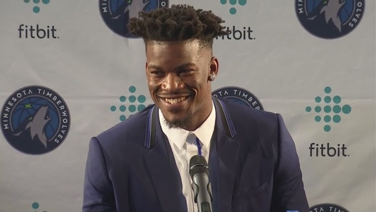 Jimmy Butler Timberwolves press conference