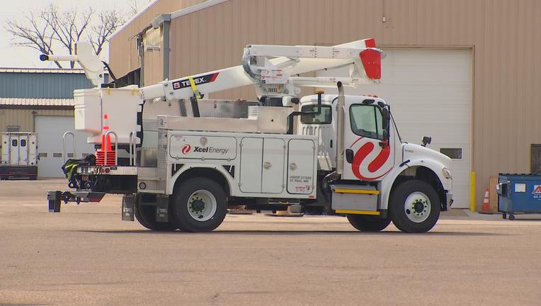 Xcel Energy truck