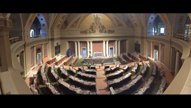 Minnesota Capitol restoration