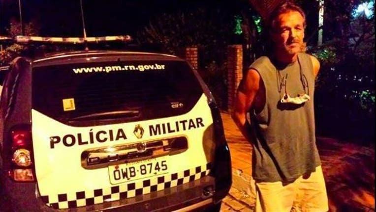 Victor Barnard Brazil arrest