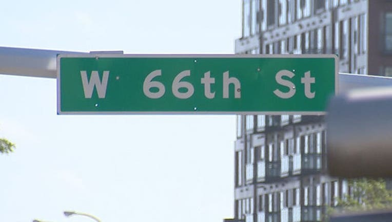 West 66th Street in Edina