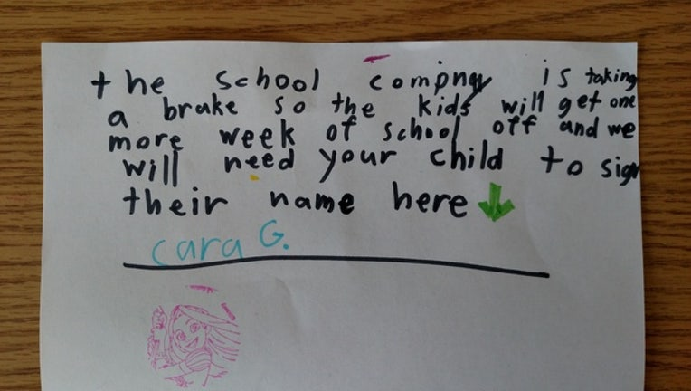 My daughter got the mail today (it's Sunday), apparently they have another week off school. - Imgur_1451963067302-408795.jpg