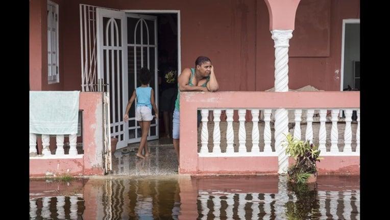Getty Puerto Rico Hurricane Maria flooded house