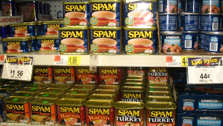 Spam thefts in Hawaii-404023