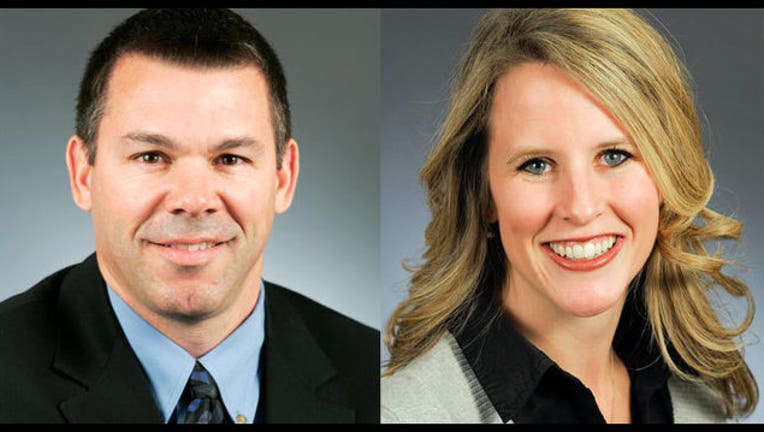 9e89558f-Rep. Tim Kelly (R-Red Wing) and Rep. Tara Mack (R-Apple Valley)