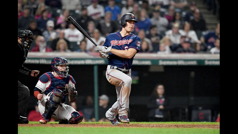 Max Kepler hits 3 home runs at Cleveland