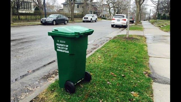 Minneapolis organics green cart