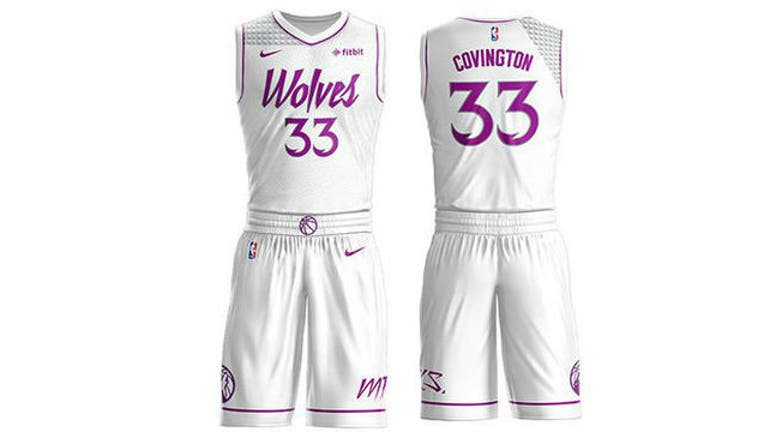 Timberwolves To Sport New Nike Nba Earned Edition Uniforms Fox 9