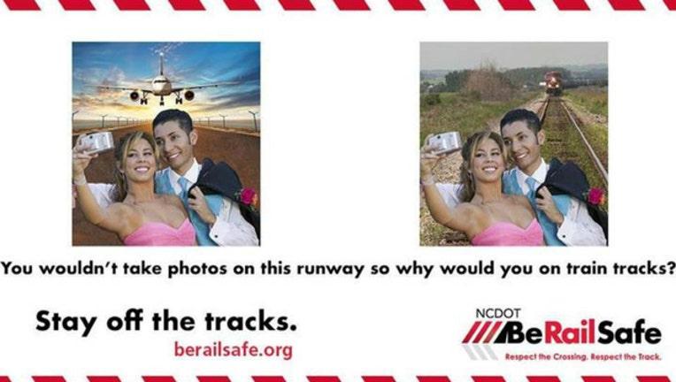Don't take prom selfies on train tracks, railroads warn-404023