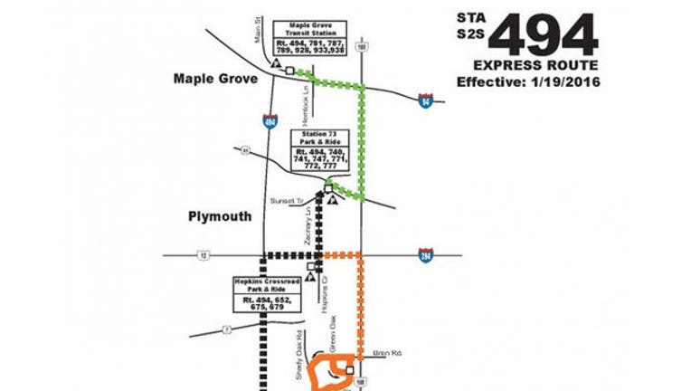 fe7099f3-Suburb-to-suburb Route 494 bus starts Jan. 19