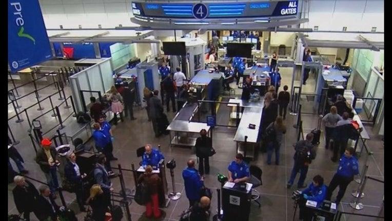 TSA at MSP Airport