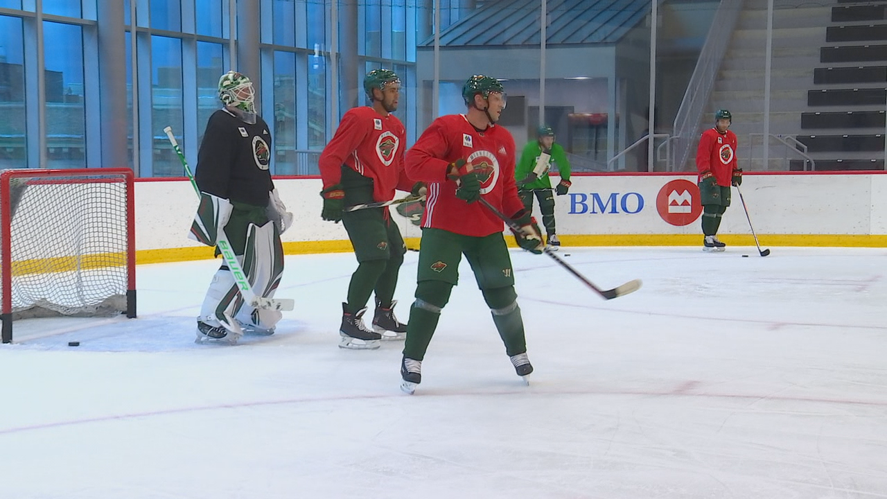 Minnesota Wild take to the ice for kickoff of training ...