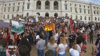 Hundreds of students march on Minnesota State Capitol as part of global movement against climate change