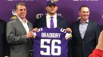 Garrett Bradbury talks rookie life in the NFL with the Vikings
