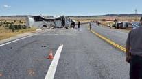 Officials: Tour bus crash near Bryce Canyon National Park in Utah kills 4