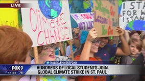 Minnesota youth join global climate strike Friday