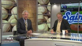 St. Paul Saints Co-owner Mike Veeck joins FOX 9 Sports Now (Part 1)