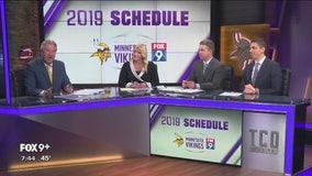 FOX 9 Sports crew breaks down the Vikings' 2019 schedule (Part 1)