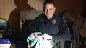 Crystal police sergeant helps deliver baby boy