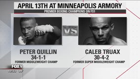 Caleb Truax talks about inspiring others, his upcoming bout on FOX 9 Sports Now