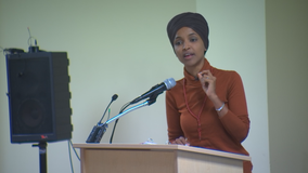 Man accused of carrying on affair with Rep. Omar says wife made up claims