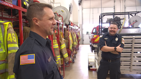 Elk River, Minn. man offers kidney to fellow firefighter, turns out to be perfect match