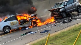 2 drivers die after fiery, head-on crash in Andover, Minnesota