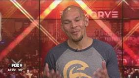 Caleb Truax joins FOX 9 Sports Now to talk about his upcoming fight