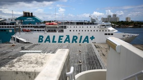 More than 100 Bahamian evacuees reportedly ordered to exit ferry headed to US over visas