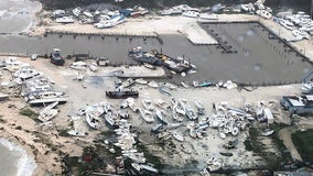 """Total devastation"": Hurricane Dorian levels parts of the Bahamas"