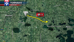 NWS: EF-1 tornado touched down in the Minnetrista area Monday night