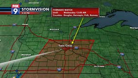 Tornado watch issued for area including Twin Cities metro