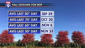 Despite our cooler weekend, there's likely still plenty of warmth left in 2019