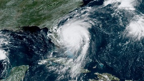 Hurricane Dorian crawls along east coast of Florida as Category 2 storm