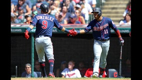 Twins take 2 of 3 at Cleveland, lead AL Central by 6.5 games