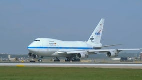 NASA's SOFIA plane telescope makes pit stop at MSP Airport
